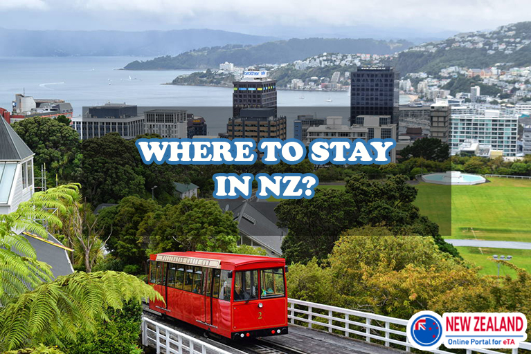 Where to stay during New Zealand's trip?