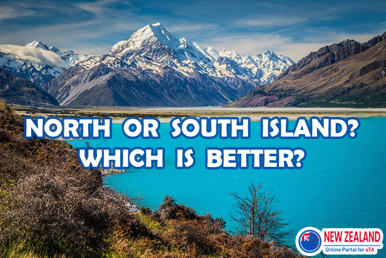 Travel to North or South New Zealand?