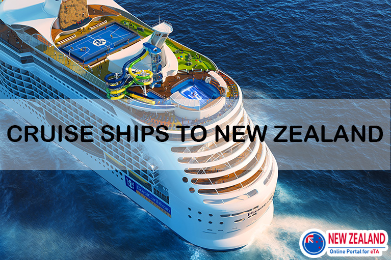 Arriving by cruise ship to New Zealand 2020