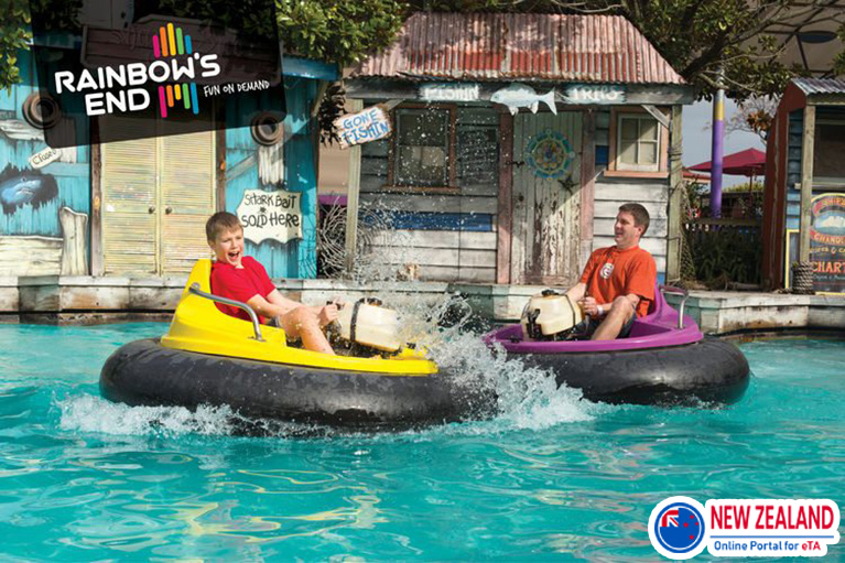 Theme-park-Rainbows-End-in-New-Zealand